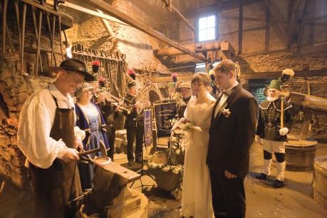 Hochzeitsschmieden im Frohnauer Hammer
