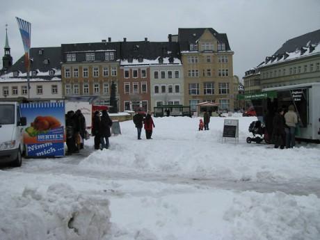 Grüner Markt am 16.03.2010