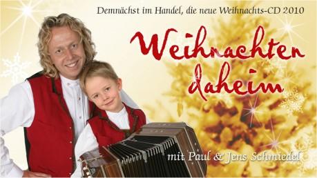 Paul und Jens Schmiedel singen Weihnachtslieder