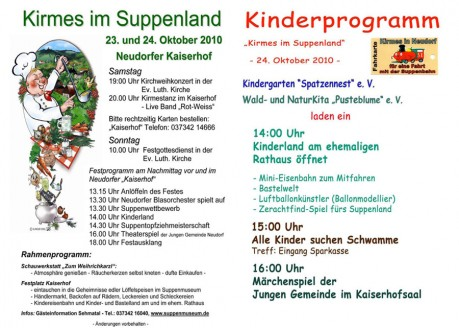 Kirmes im Suppenland
