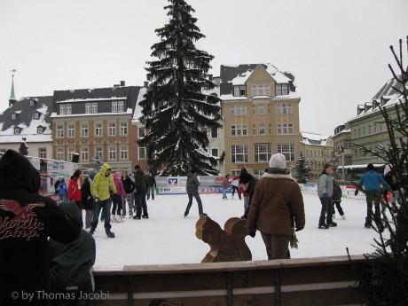 Eisbahn im Jahre 2010